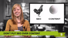 There is more evidence that SEOs should focus on creating great content rather than focusing strictly on SEO.
