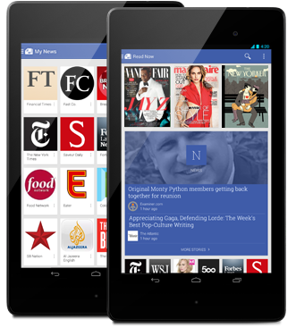 Google's new mobile application delivers relevant content to users' mobile devices.