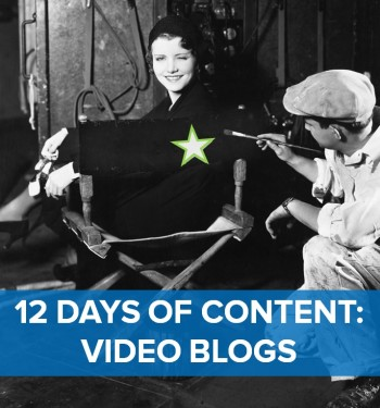 On the sixth day of content, marketing gave to me: Six video blogs