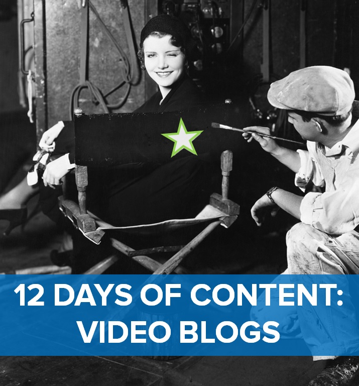 For the sixth day of content, Brafton is featuring the video blog.