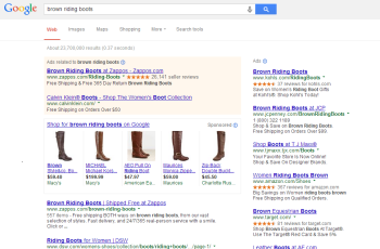 Google changed the way it displays paid ads, giving organic content priority.