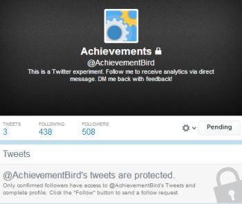 A new Twitter handle provides marketers with social analytics data.