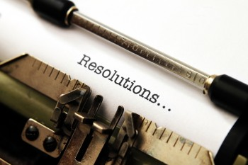 It's a new year, which means it's time for change. These 10 common resolutions will get you on the right foot for 2014.