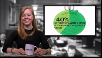 A study proves why brands must keep their videos short and sweet and packed with value to keep viewers' attention.