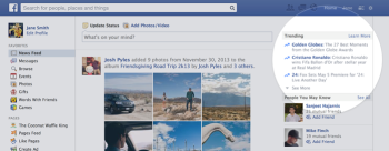 Facebook recently announced it's bringing Trending stories to the top of Newsfeeds.