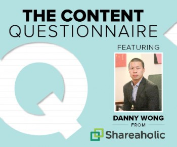 In Brafton's Content Questionnaire, marketing expert Danny Wong tells which tactics will help companies get ahead, or fall behind.
