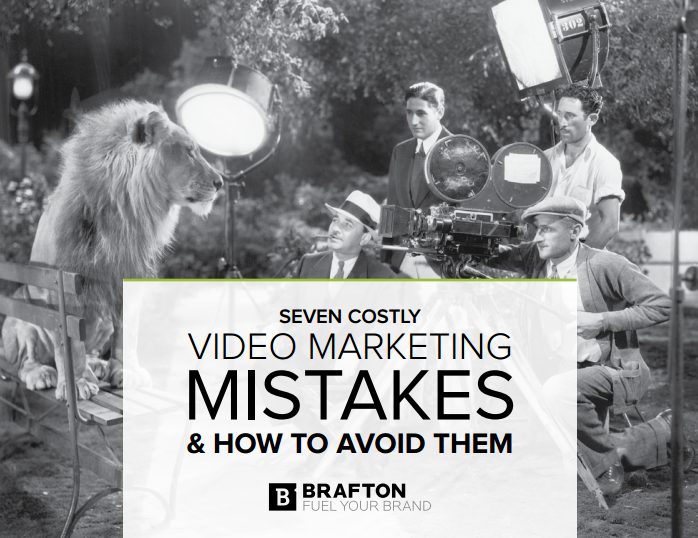 Brafton's video marketing resource discusses seven common mistakes and how to avoid them.
