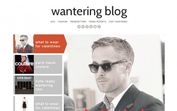 Wantering's blog is one of Ong's favorite marketing feats.