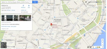 brafton google maps location ratings marketing data