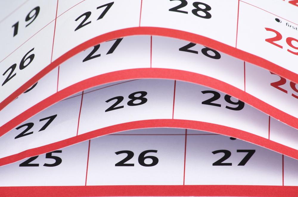 calendar content schedule
