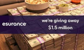 esurance giveaway contest super bowl money