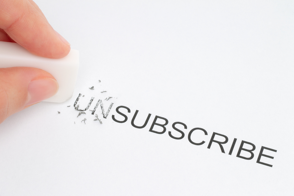 unsubscribe email marketing gmail content