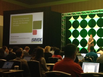 SMX West started with what's an afterthought for too many content marketers: Decisions based on data. Read tips on mobile data & exec buy-in.