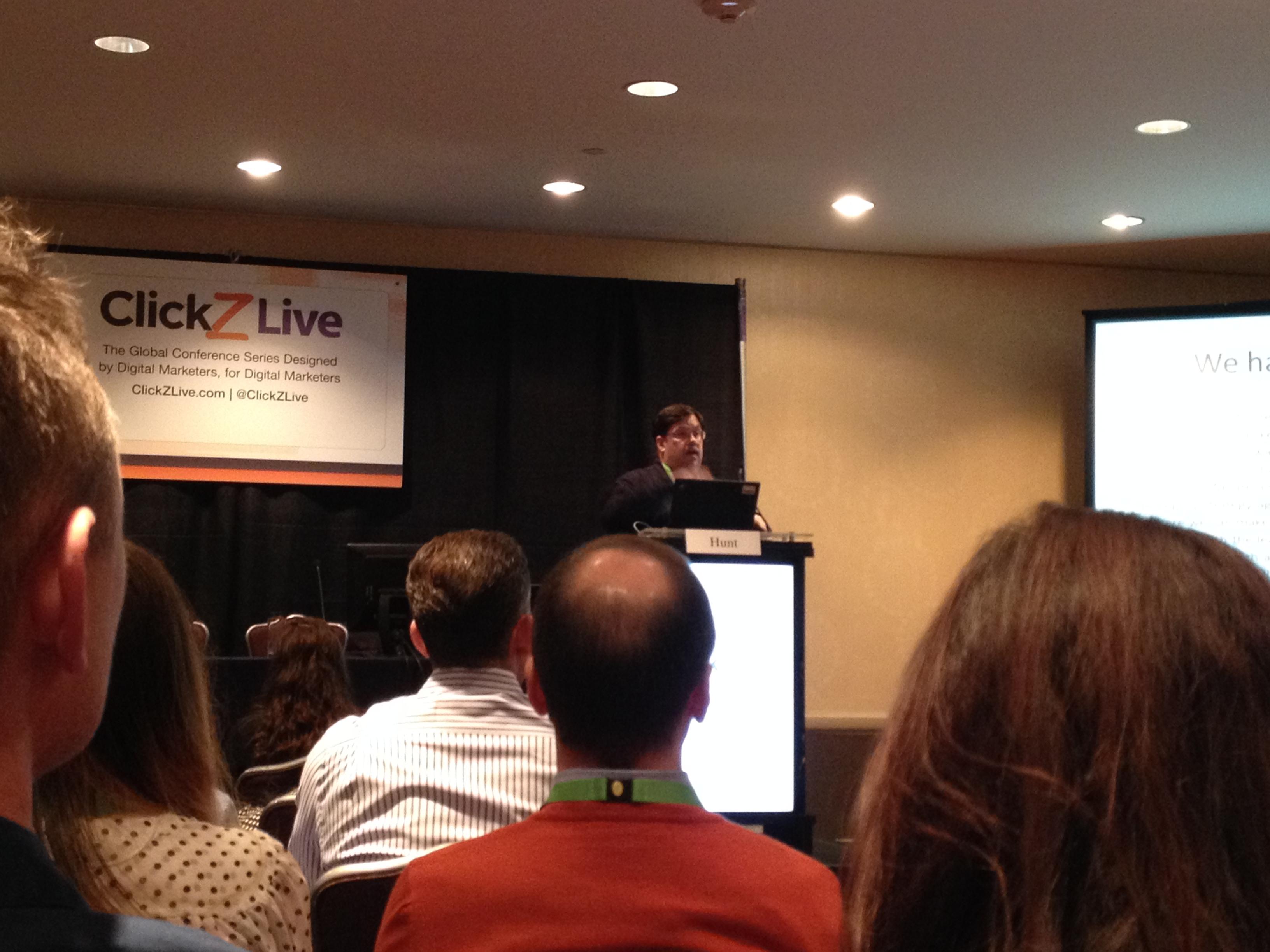 ClickZ Live Conference