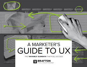 UX eBook email explains design principles to marketers.
