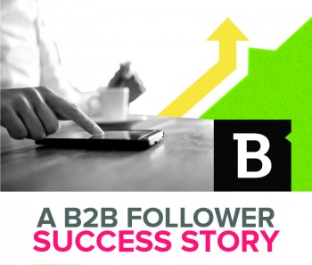 One B2B company proves that Twitter is a valuable place to share content and grow audiences  - it's follower base tripled in a year.