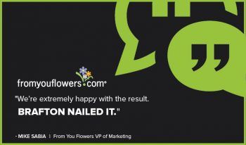 From You Flowers' earned traffic and sales from its video marketing strategy with Brafton. Watch the video to see why the flower delivery service's VP of Marketing Mike Sabia says the team 'nailed it'