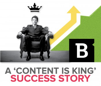 People say content is king because it wears many hats, including conversion driver. One Brafton client saw its conversion metrics increase significantly among blog readers.