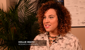 Meet Hollie Heath. As a research as
