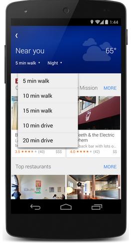 Google Maps Explore pics