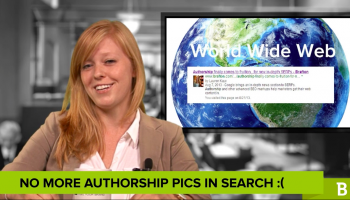 Google recently took Authorship images out of search results in a sudden change of heart.