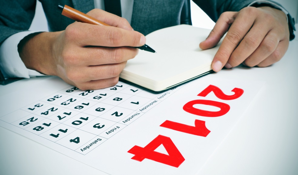 2014 calendar keywords content marketing