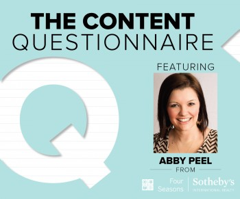 Brafton asked Abby Peel of Four Seasons Sotheby's to share her marketing tips, tricks and pet peeves from the real estate industry.