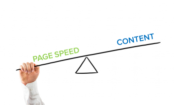 Consumers say the most important part of website experiences is speed, but faster isn't always better for delivering the valuable information they need.