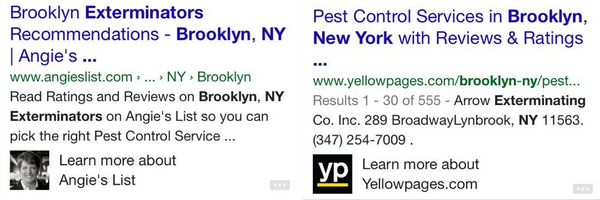 mobile brooklyn exterminators SERP