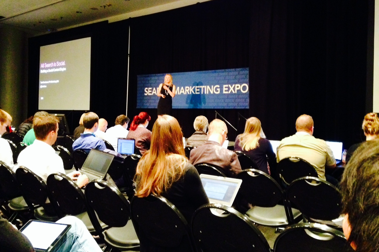 IBM Marketing VP at SMX East 2014