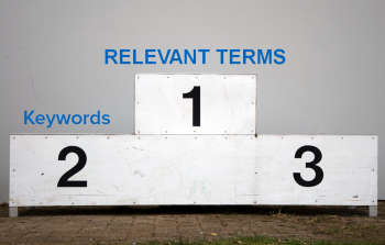 A new Searchmetrics study finds relevant terms - not keywords - are correlated with top-ranking website content.
