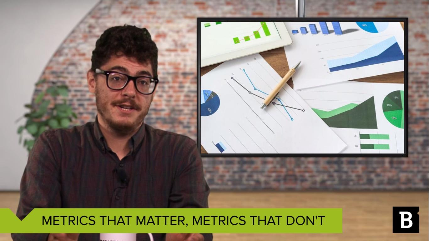 metrics that matter, metrics that don't