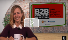 Content Marketing & Coffee KGriwert CMI Report B2B 2015