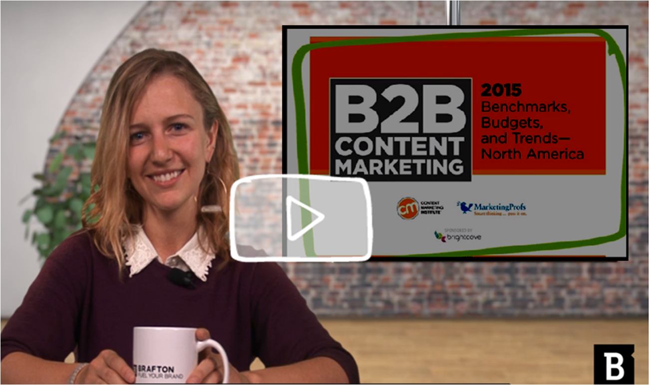 Content Marketing & Coffee KGriwert CMI Report B2B 2015