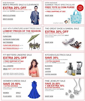 Macy's Newsletter from Simple Relevance Study