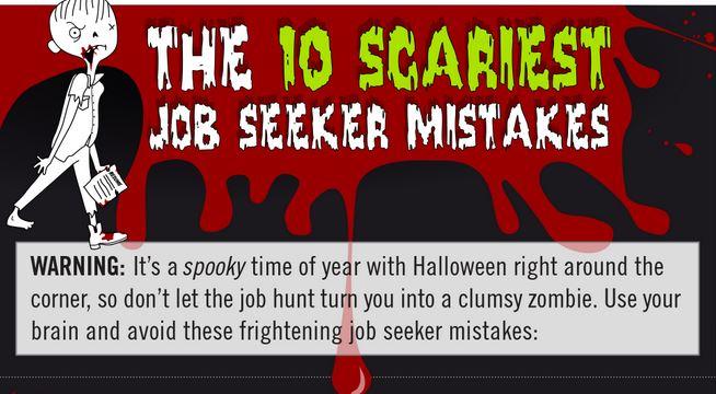 scary job seeker