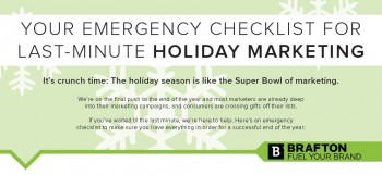 Your emergency checklist for last minute holiday markeitng