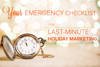 Here's a checklist to help marketers get ready for the busiest and most profitable time of the year.