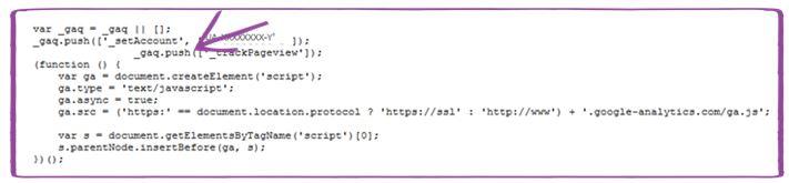 google analytics code 1