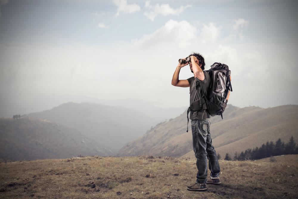 safari binoculars field