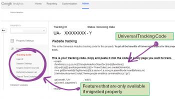 universal tracking code