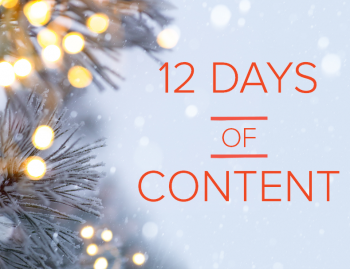Brafton's back with the 12 Days of Content!  Last year, we asked our teams to share their insights about content types and how you can use them to drive results […]