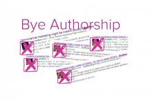 Bye Authorship