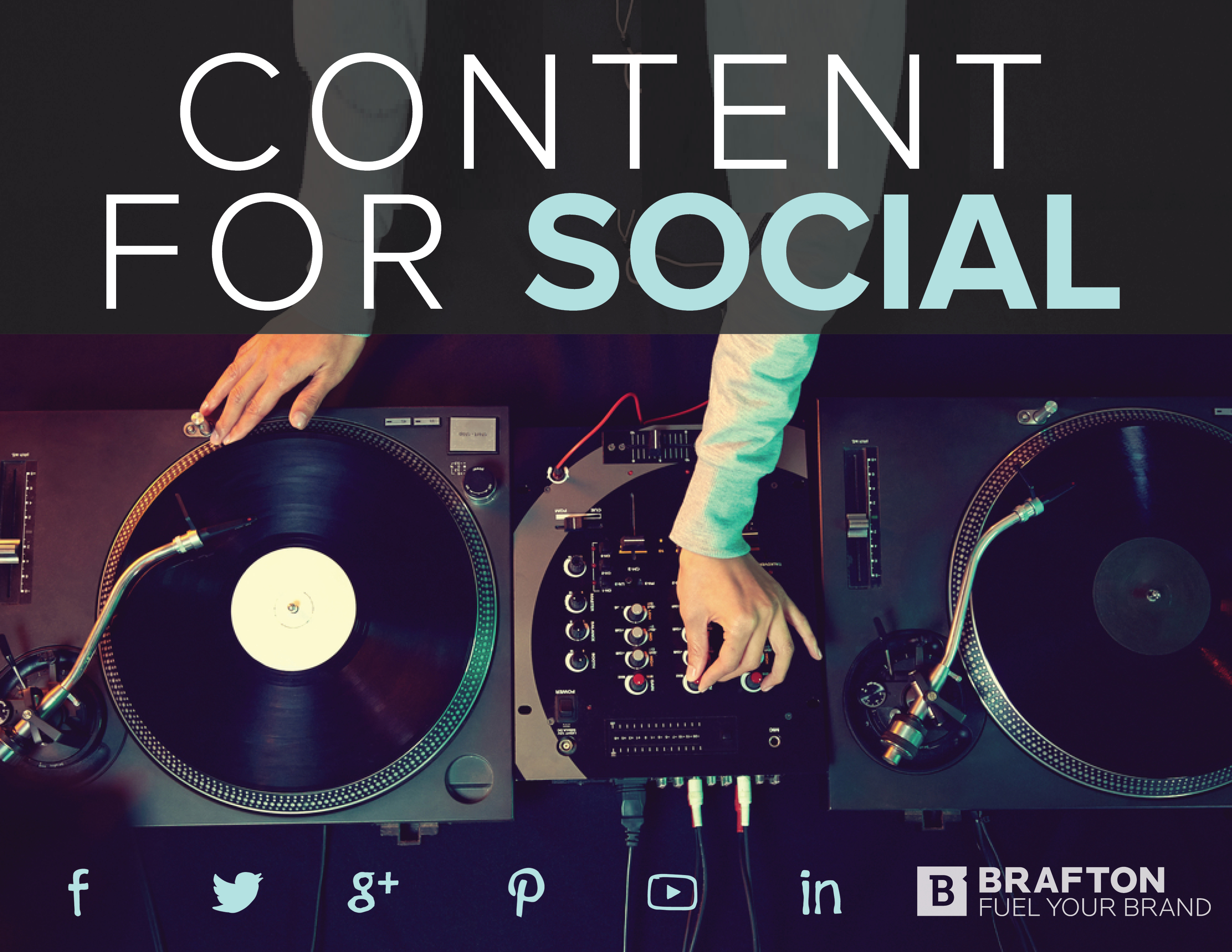 This eBook shows marketers how to create content for social media campaigns.
