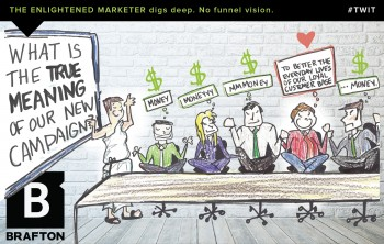 The enlightened marketer digs deep. No funnel vision. #MarketingTWIT