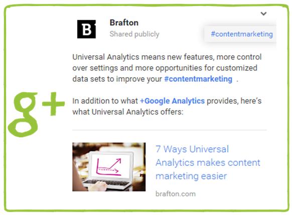 Brafton Universal Analytics GooglePLus