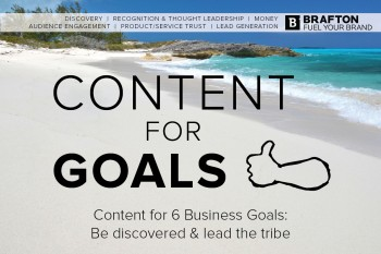 """A look at Brafton's upcoming webinar """"6 Business Goals for Content Marketing"""" with host Brendon Cottreau."""