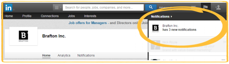 LinkedIn Notifications 1