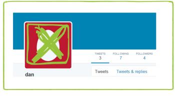 No Twitter Egg Avatar
