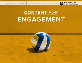 Engagement is a top marketing goal, and content marketing strategies are one way brands can work toward the results they need for success.